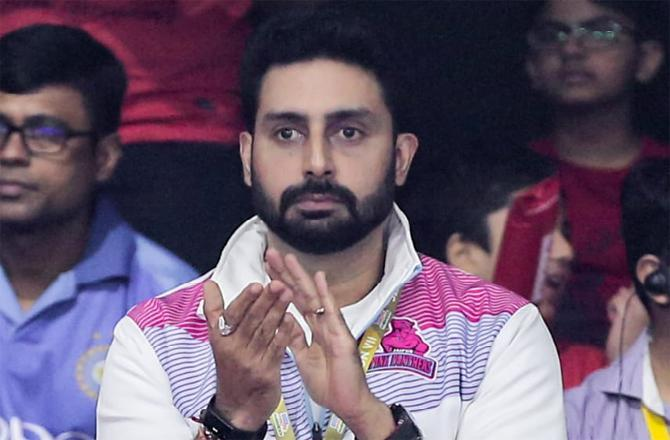 Abhishek Bachchan: Whatever work I do in life, I feel it should have a personal connect