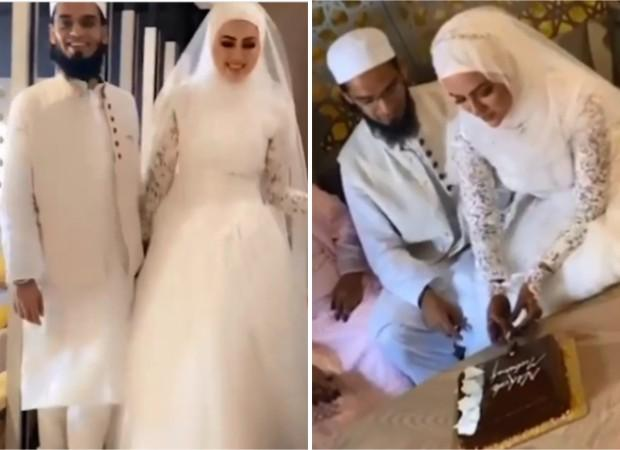 After quitting showbiz, Sana Khan marriesMufti Anas in private ceremony in Surat : Bollywood News – Bollywood Hungama