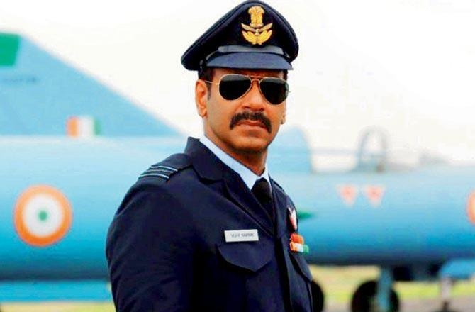 Ajay Devgn resumes shoot for Bhuj: The Pride of India in Hyderabad