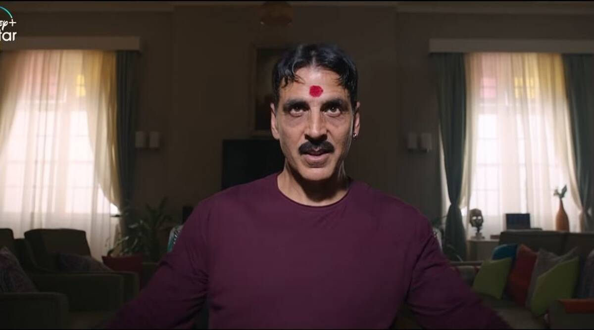 Akshay Kumar on Laxmmi Bomb: My character has been handled wisely, sensitively