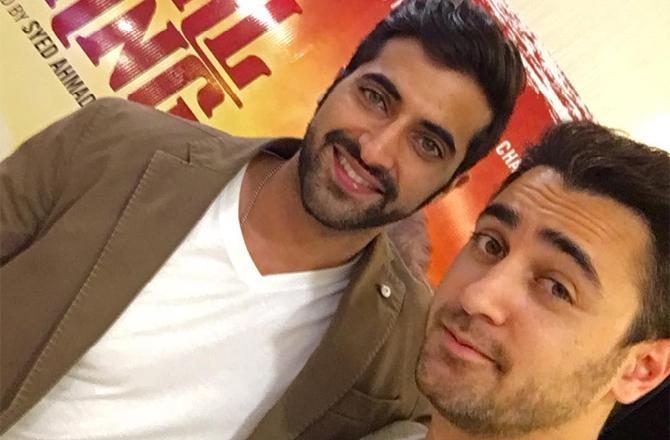 Akshay Oberoi: Imran Khan has left acting at the moment, there's a better writer and director inside him