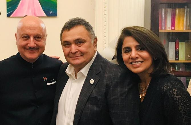 Anupam Kher gets emotional on meeting Neetu Kapoor: Our shared tears made the bond of those moments stronger