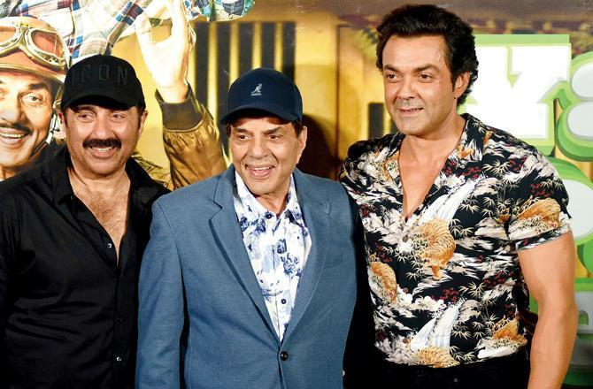 Apne 2 announcement: Dharmendra, Sunny Deol, Bobby Deol, Karan Deol to start shooting in March 2021