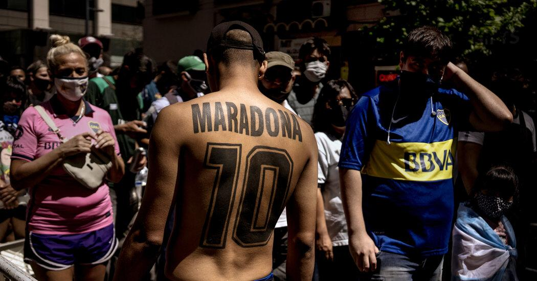 Argentina, and Latin America, Mourn Maradona as a Man of the People