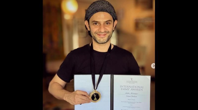Arjun Mathur bags  an Emmy nomination