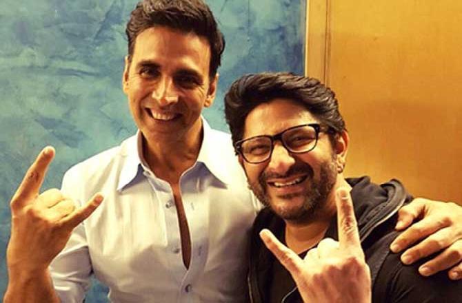 Arshad Warsi joins Akshay Kumar for Bachchan Pandey