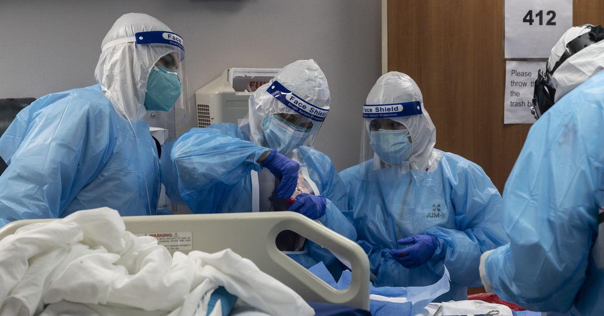 As coronavirus cases surge, hospitals are beginning to be overwhelmed