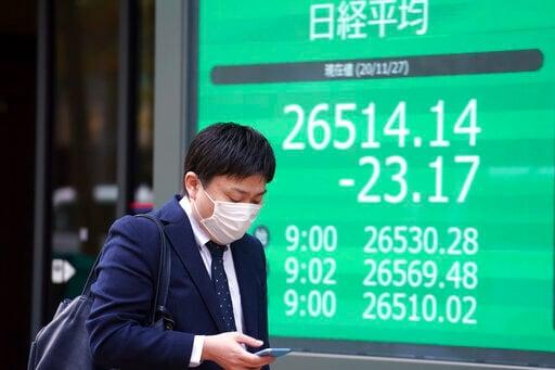 Asian Shares Mixed Despite Record High S&P 500