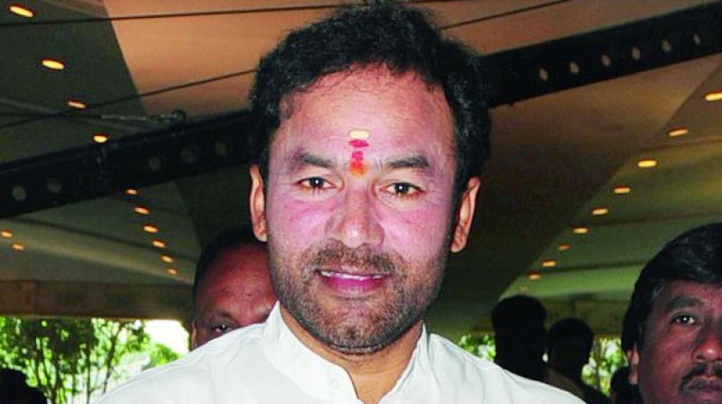 Basti Dawakhanas are a Central project, KTR stealing credit, says Kishan Reddy