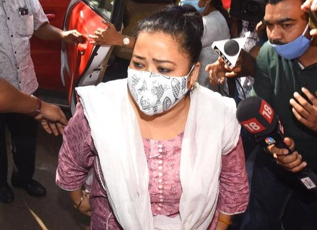 Bharti Singh and Haarsh Limbachiyaa arrive at NCB office for questioning hours after the raid : Bollywood News – Bollywood Hungama