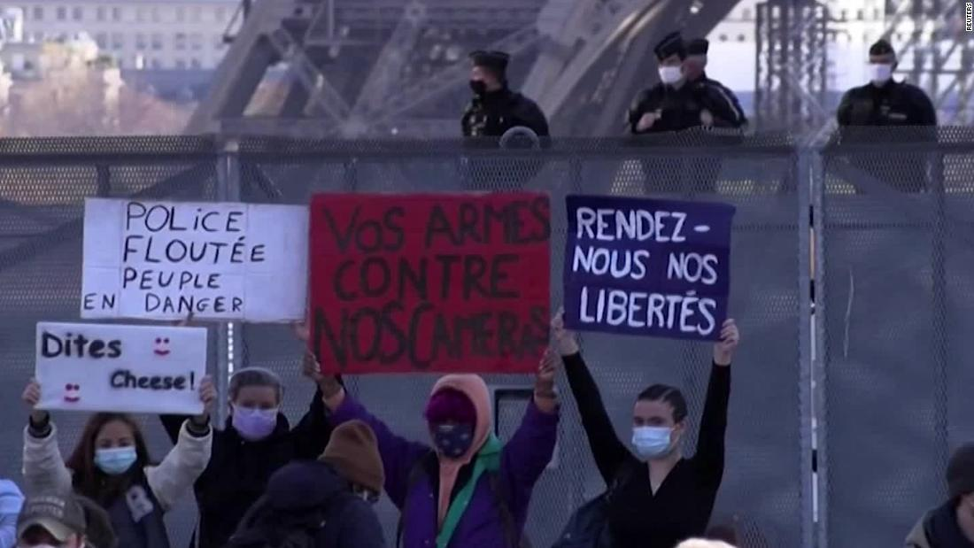 Critics say France's security bill will make it a democratic outlier – CNN Video