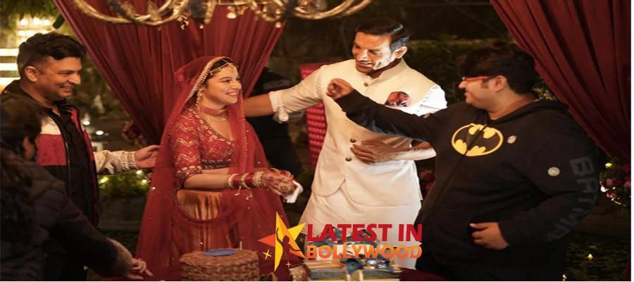 Divya Khosla Kumar Celebrates Her Birthday With John Abraham And Director Milap Zaveri On The Sets Of 'Satyameva Jayate 2'