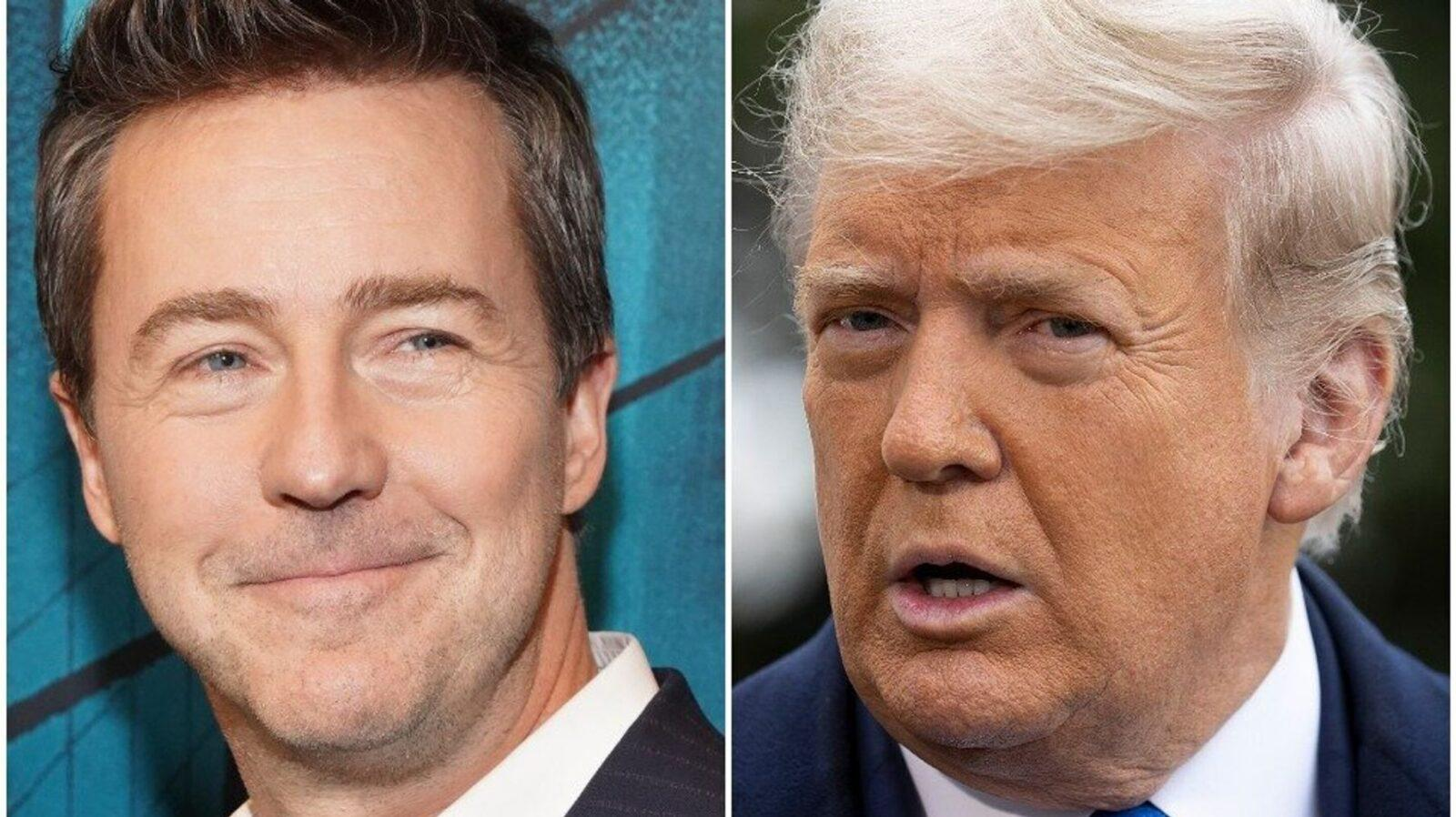Edward Norton Compares 'Whiny' Trump's Actions To A Failed Poker Hand