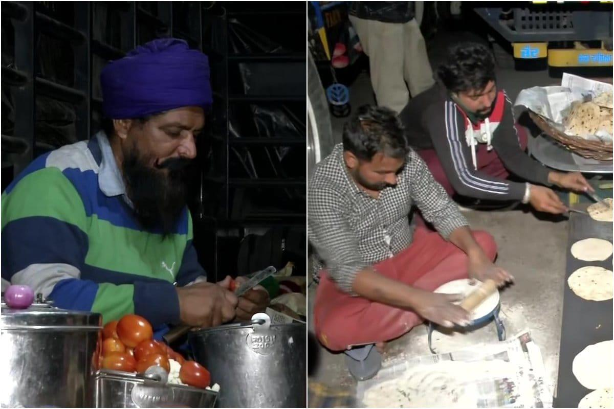 Farmers' Protest: National Highway at Singhu Border Turns into Mega Kitchen at Evening