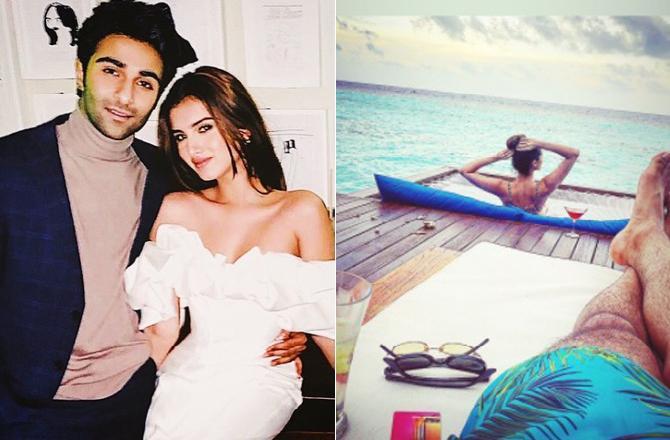 Is Tara Sutaria celebrating her 25th birthday with Aadar Jain in the Maldives?