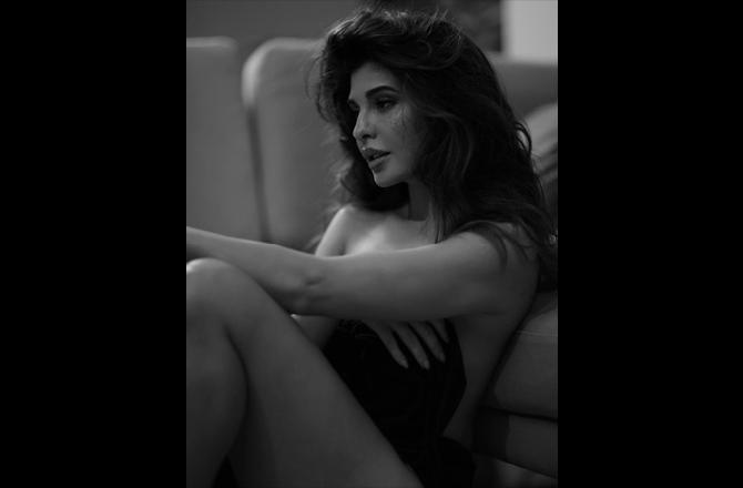 Jacqueline Fernandez goes bold, shares a stunning black-and-white picture