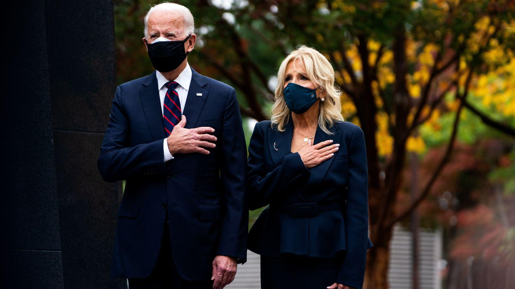 Joe And Jill Biden's Thanksgiving Op-Ed: 'We're Going To Get Through This Together'