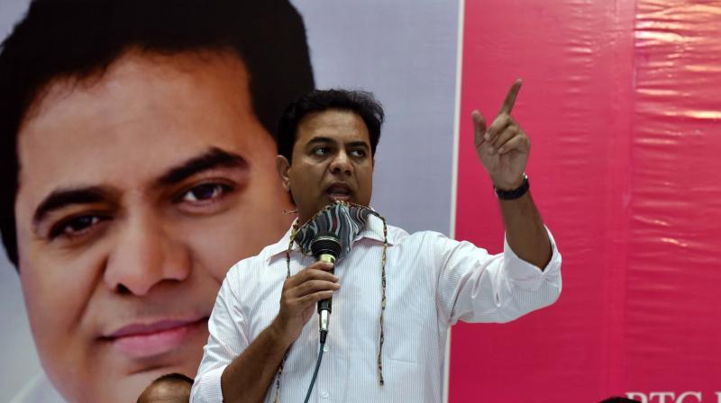 KTR flays Amit Shah, says BJP knows only 'jumlas, hamlas'