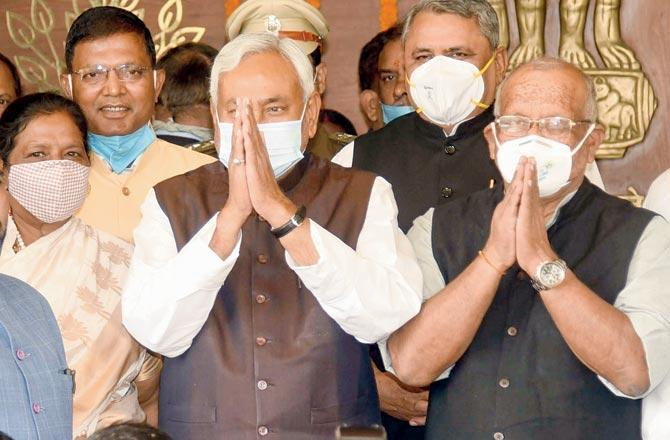 MLAs take oath as Bihar Assembly session begins