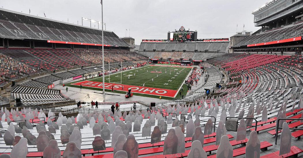 Ohio State cancels a game after a coronavirus outbreak, potentially imperiling its Big Ten chances.