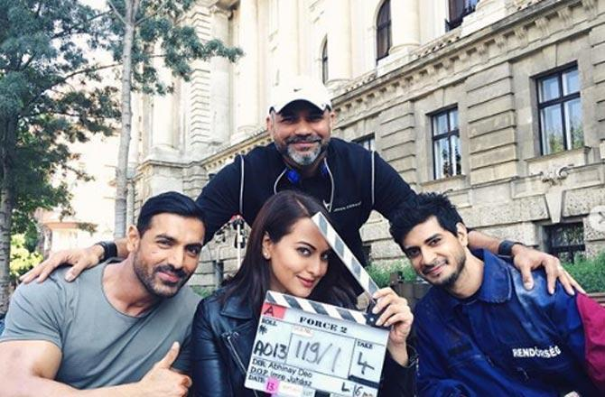 On 4th anniversary of Force 2, Sonakshi Sinha says 'proud to be part of film'