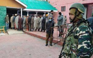 Polling begins in maiden J&K DDC election