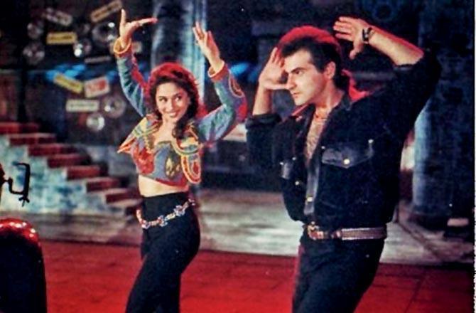 Raja couple – Madhuri Dixit Nene and Sanjay Kapoor – reunite after 25 years