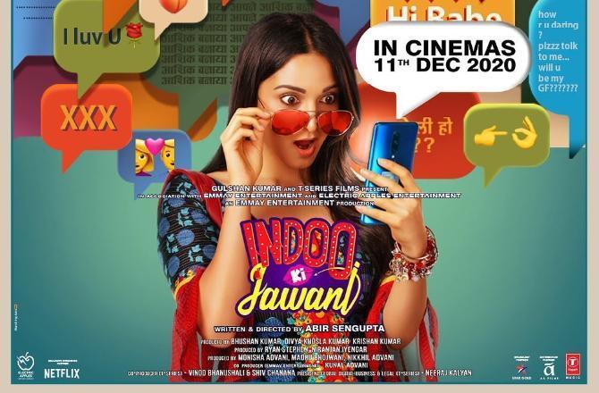Revealed! Kiara Advani's Indoo Ki Jawani to hit theatres on THIS date