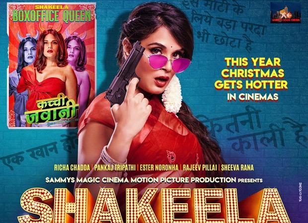Richa Chadha starrer Shakeela, based on the spunky South superstar, set for Christmas 2020 release in theatres : Bollywood News – Bollywood Hungama