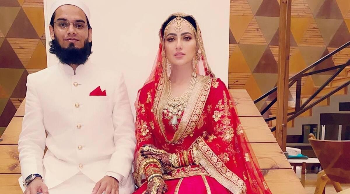 Sana Khan Marriage Maulana Mufti Anas After Leaving The Industry