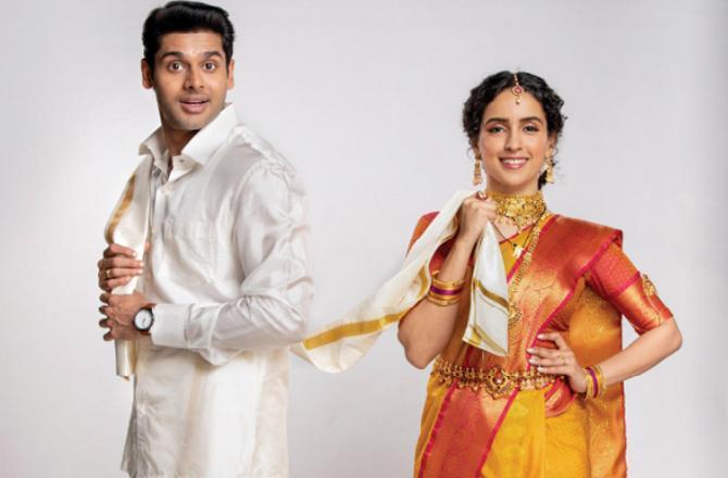 Sanya Malhotra and Abhimanyu Dassani roped in for Meenakshi Sundareshwar