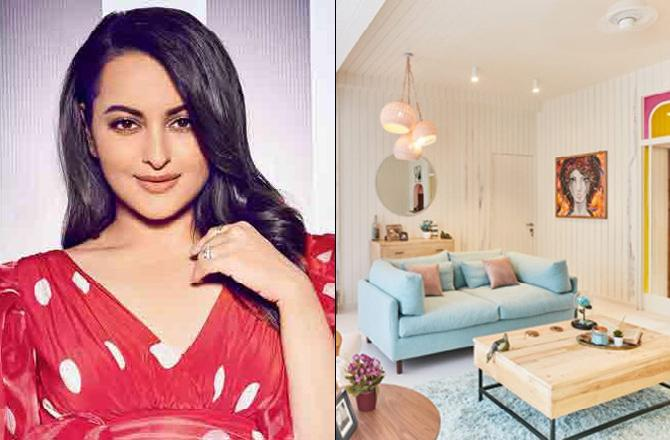 Sonakshi Sinha's home is now a dreamy, artistic space; we have photos!