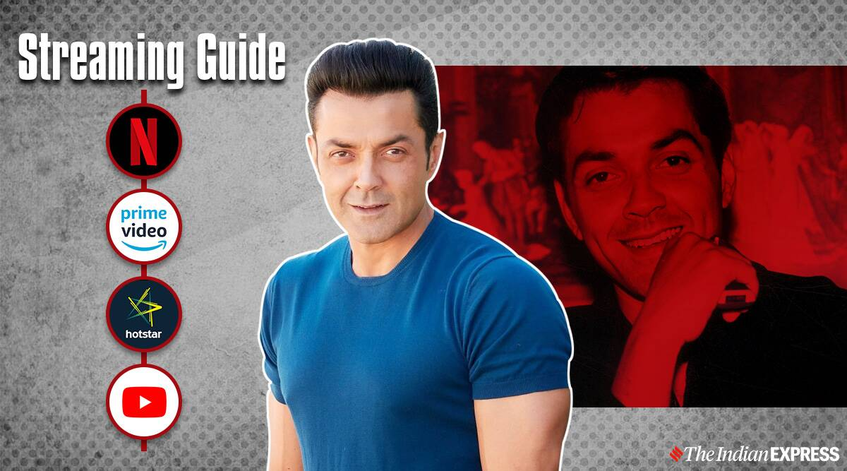 Streaming Guide: Bobby Deol movies