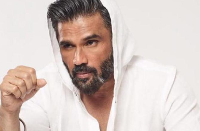 Suniel Shetty: Just when my first film was about to wrap up, it was stalled