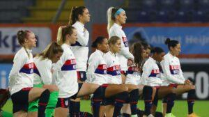 U.S. Women's Soccer Team Sports Black Lives Matter Jackets To 'Affirm Human Decency'