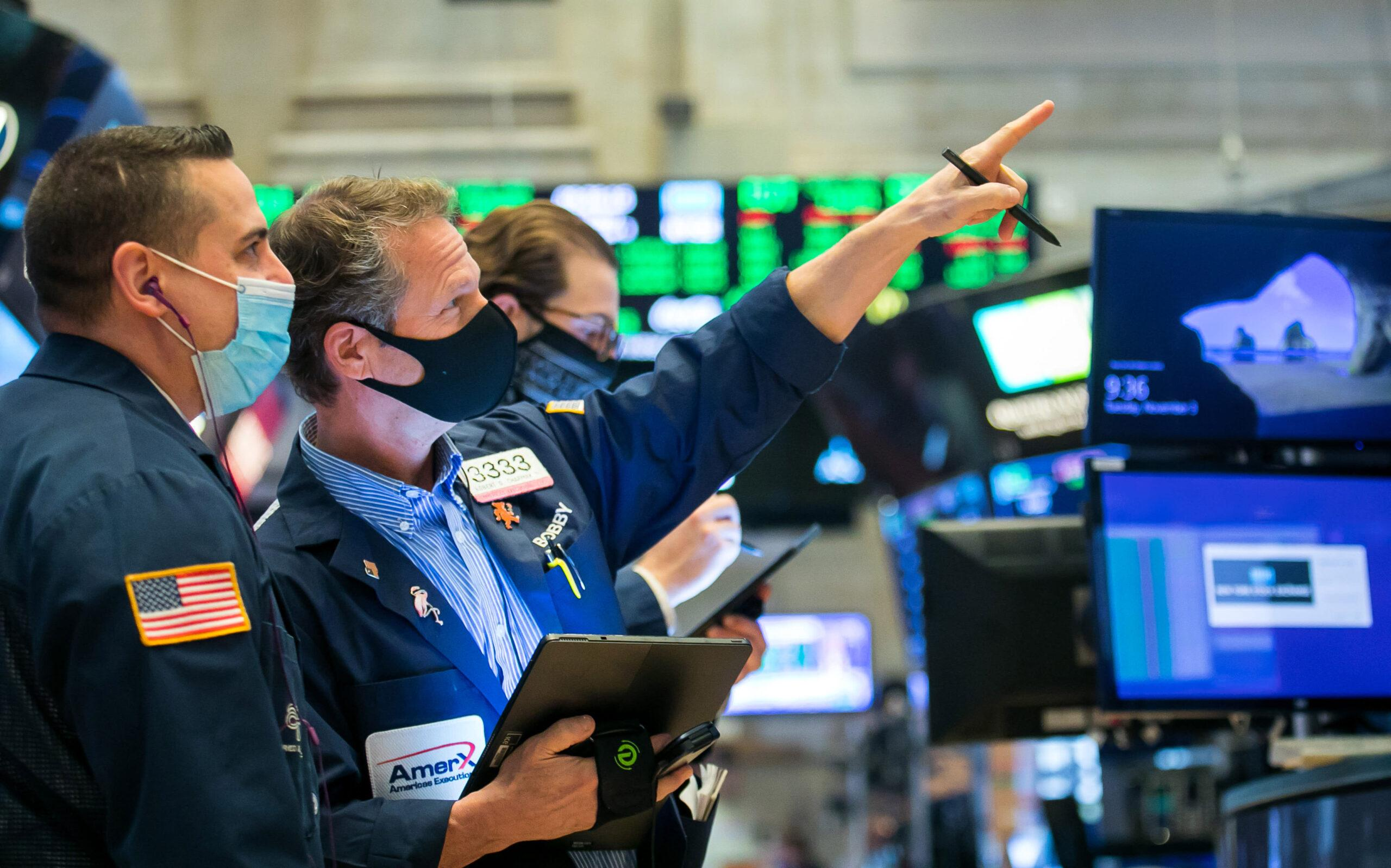 U.S. stock futures rise slightly after record day on Wall Street