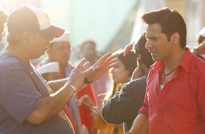 Varun shares 'main brief' by David Dhawan during Coolie No 1 shoot