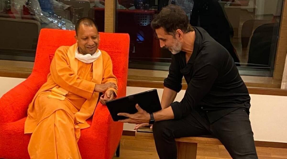 Akshay Kumar meets UP CM Yogi Adityanath