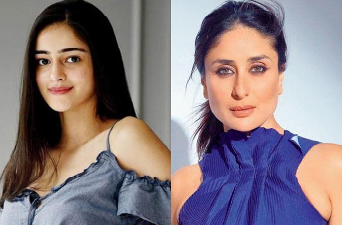 Ananya Panday is fan-girling over Kareena Kapoor Khan in this way!