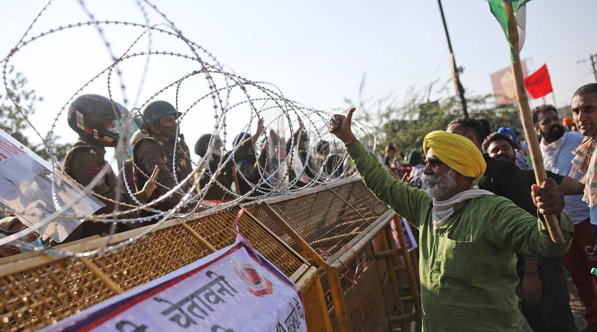 At historic Manji Sahib gurdwara, priest urges farmers to keep struggle non-violent
