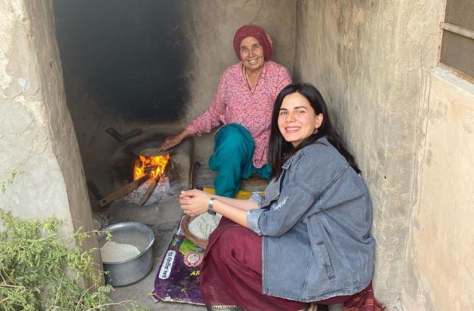 Diwali 2020: Kirti Kulhari reconnects with her rural roots; shares pictures