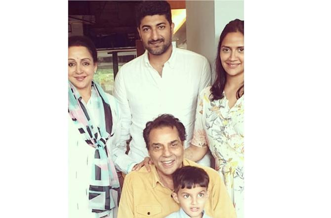 Hema Malini on daughter Ahana Deol's twins: Dharamji is yet to see his grandchildren due to COVID-19
