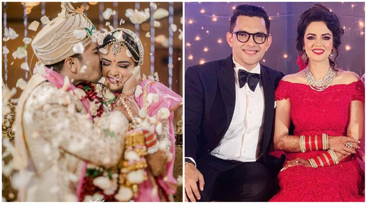 Inside Aditya Narayan's wedding reception: Bharti Singh, Govinda and others in attendance