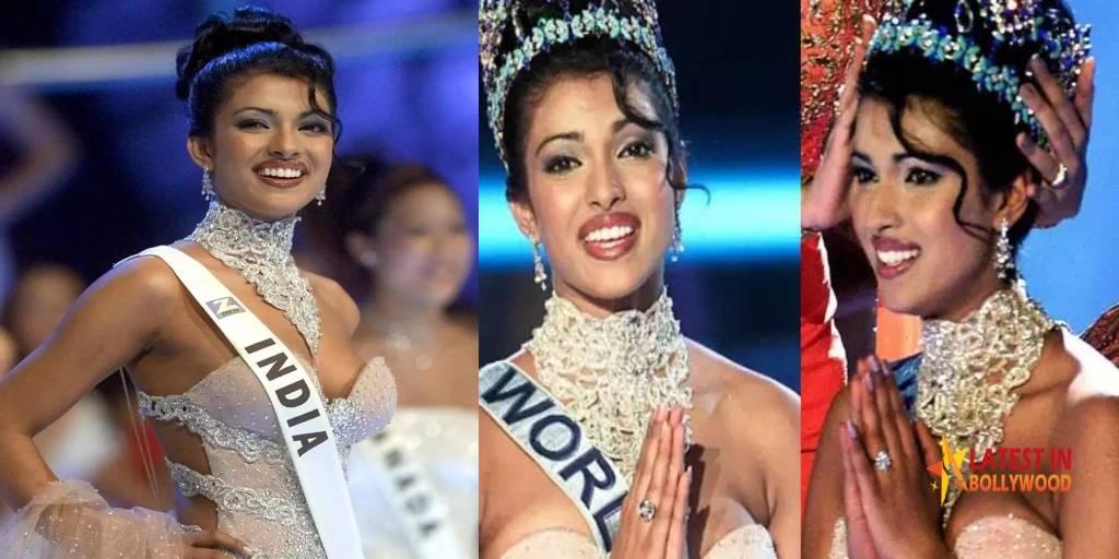 Miss World Priyanka Chopra Celebrating 20 Years 'Miss World Title'