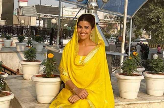 Nimrat Kaur at Gurudwara her family has been visiting for 25 years