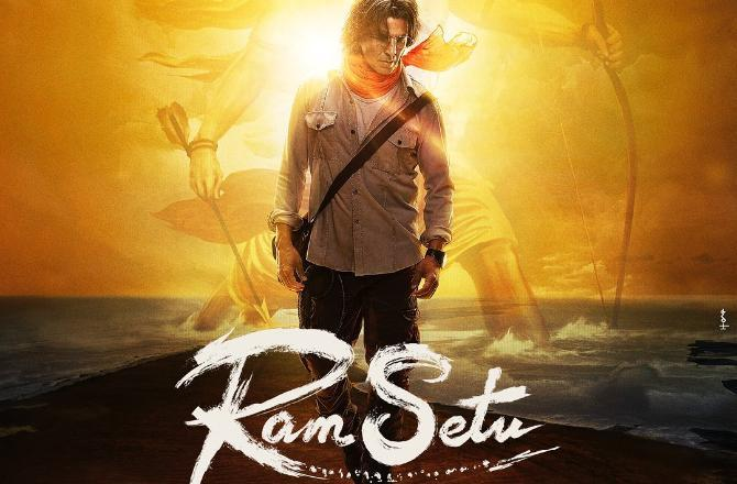 Ram Setu: Akshay Kumar shares the first look of his new film