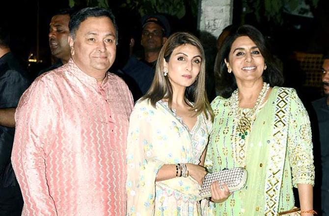 Riddhima Kapoor Sahni remembers papa Rishi Kapoor on the occasion of Diwali