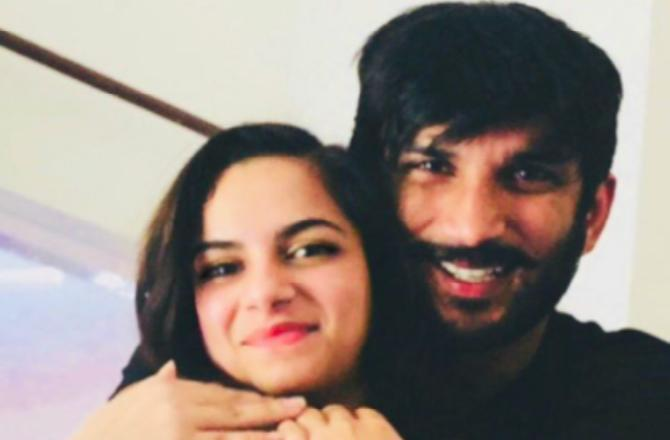 Sushant Singh Rajput's five-month death anniversary: Niece Mallika remembers actor; shares picture