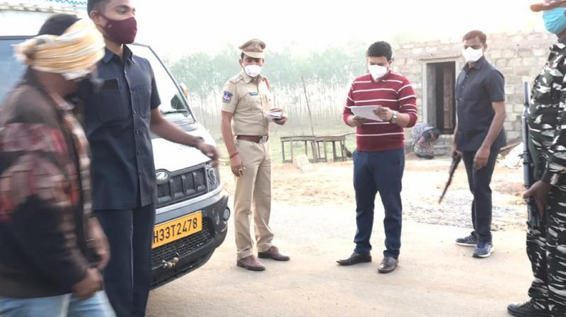Telangana police increase vigil along interstate borders