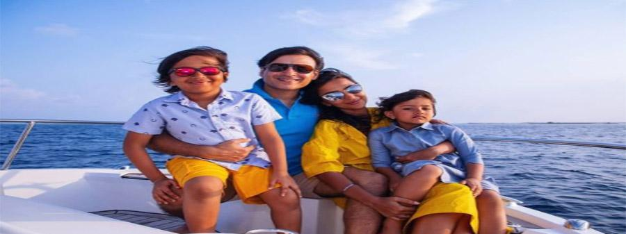 Vivek Oberoi Shares Pictures With His Wife From The Maldives
